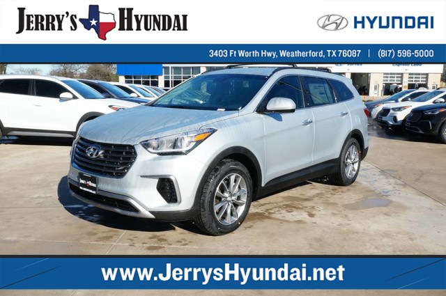 new 2017 hyundai santa fe se has a 3rd row suv h228351 jerry durant auto group. Black Bedroom Furniture Sets. Home Design Ideas